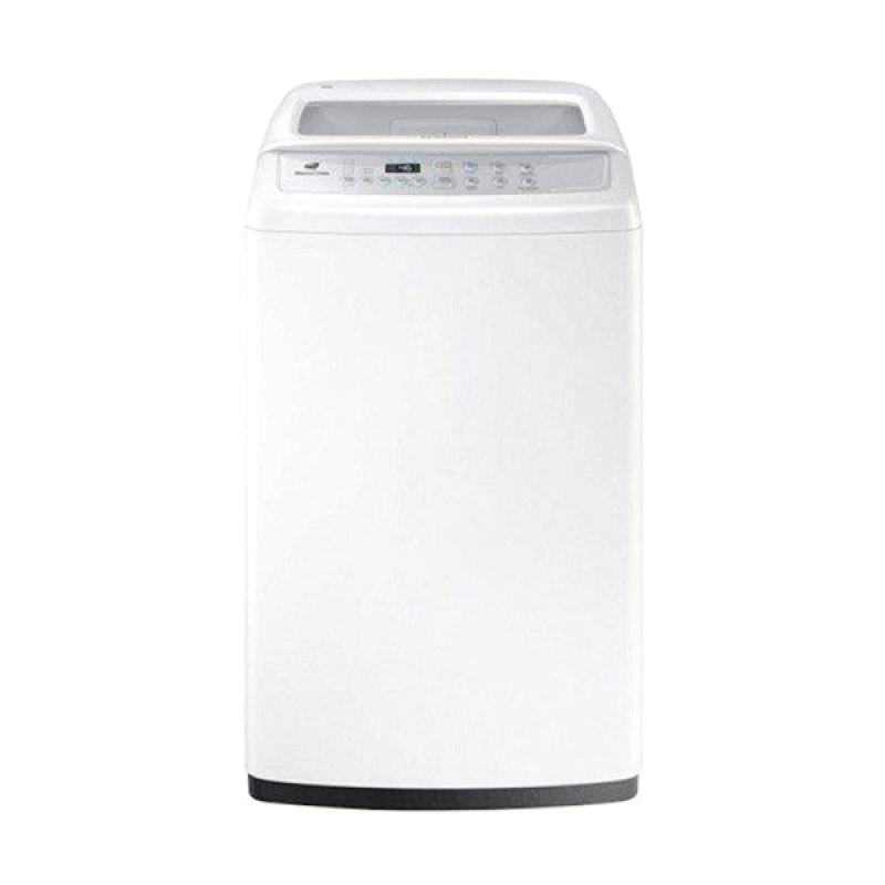 Samsung Top Loading WA80H4000SW Putih Mesin Cuci [1 Tabung/8 kg]