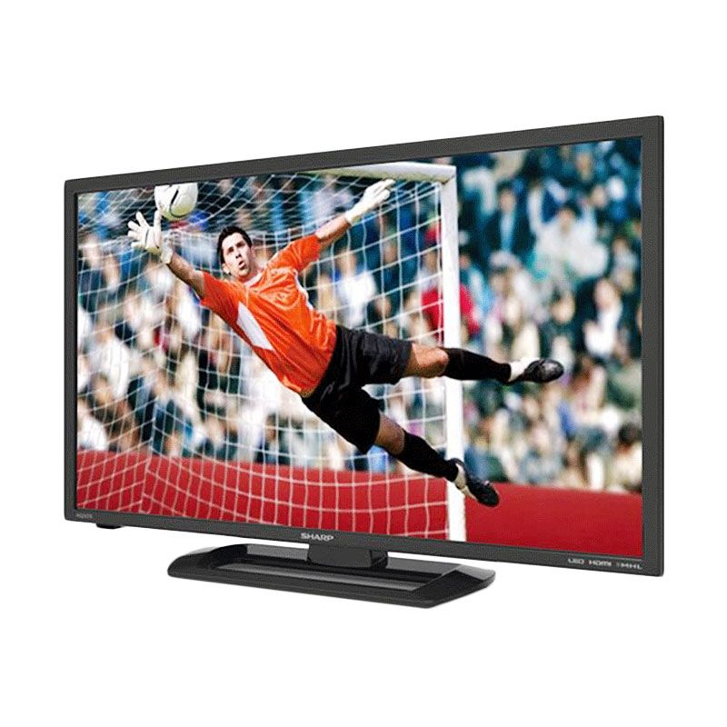 Sharp Aquos LC-40LE265M Hitam LED TV [40 Inch] + Bracket