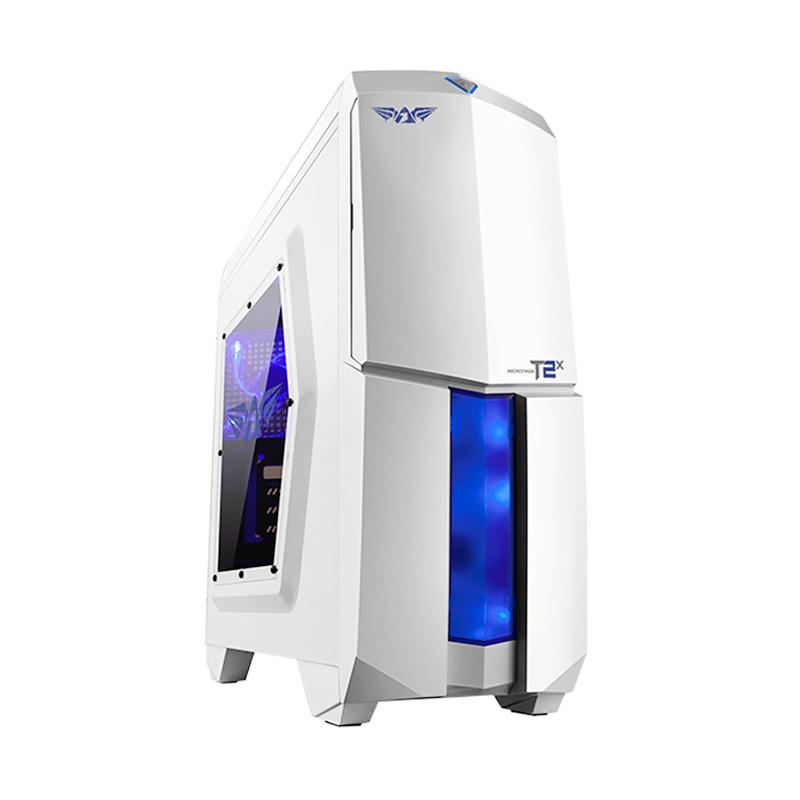 Armaggeddon Microtron T2 X Gaming Casing Komputer - White