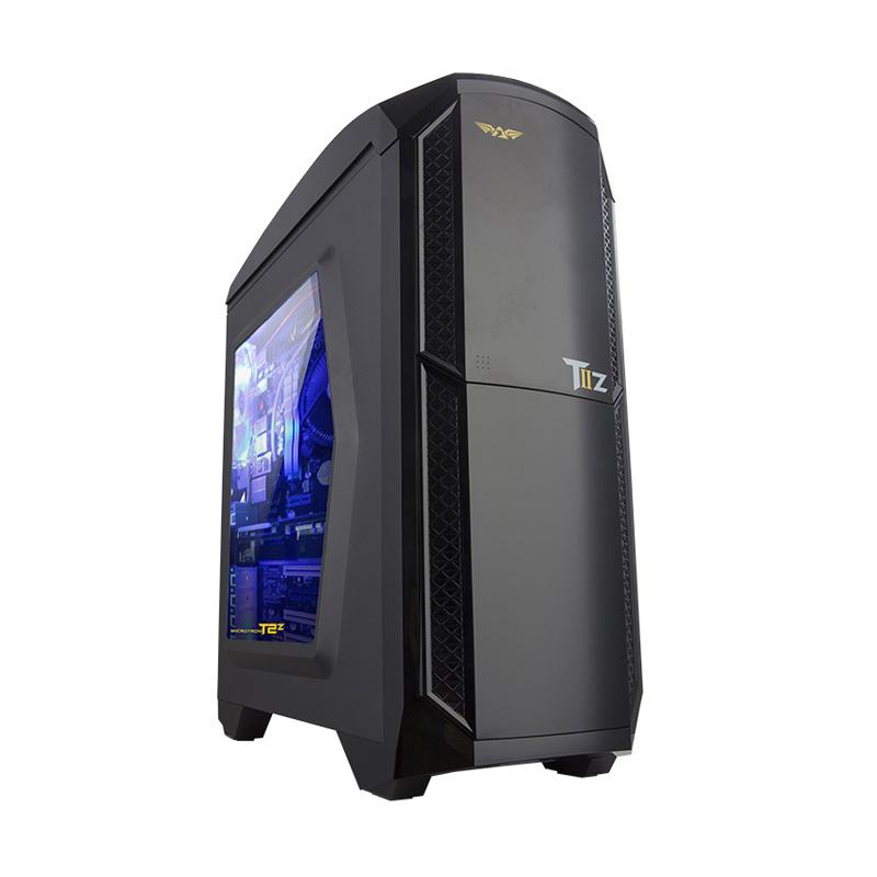 Armaggeddon Microtron T2 Z Casing Gaming Komputer - Black