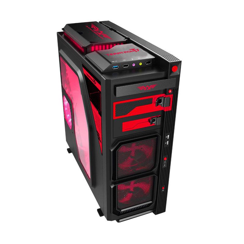 Armaggeddon Teratron T7 Gaming Casing Komputer - Black