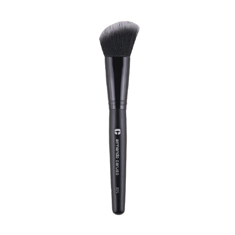 Armando Caruso 305 Angled Blush Brush - Black