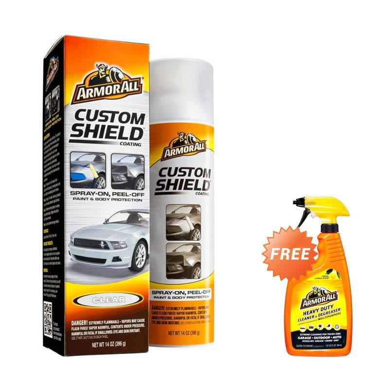 Armor All Paket Pelindung Cat Mobil [Interior & Engine Dressing dan Car Wash Soap Refill 450 mL]