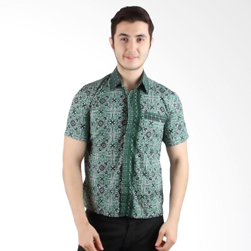 Batik Begawan Batik Modern Hijau 012
