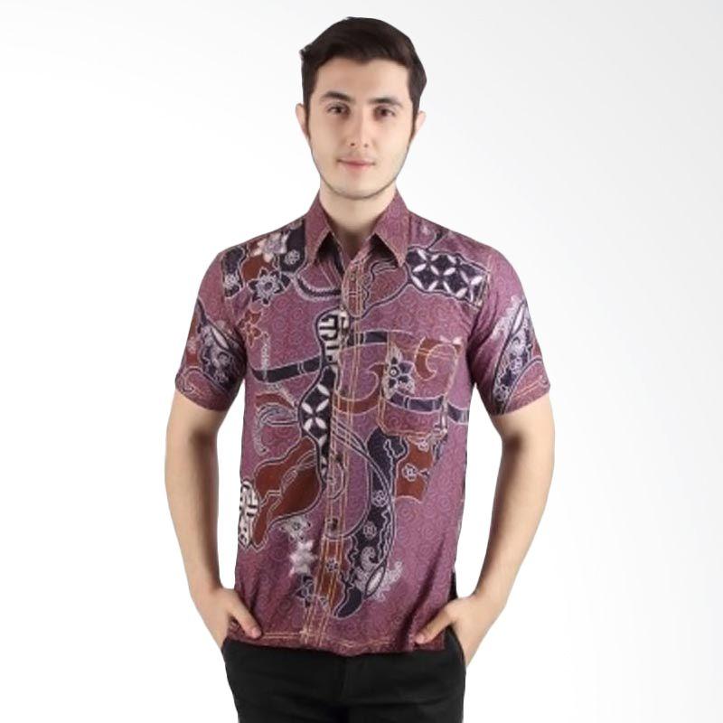 Batik Begawan Batik Modern Ungu 002