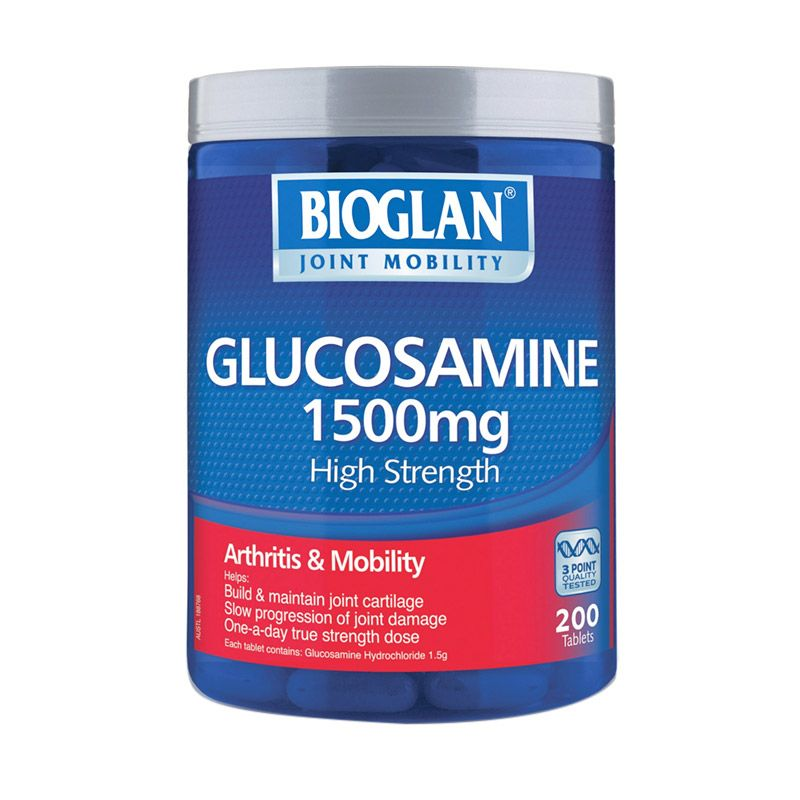 Bioglan Glucosamine 1500mg One a Day Multivitamin [200 Tabs]