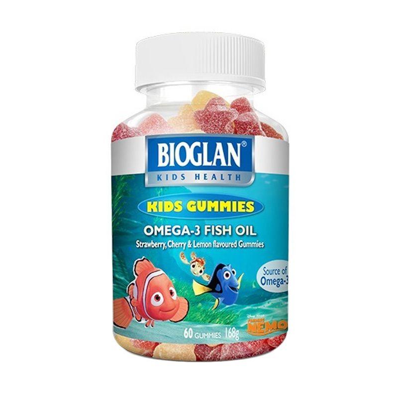 Bioglan Gummies Omega 3 Fish Oil Suplemen Kesehatan [60 Gummies]