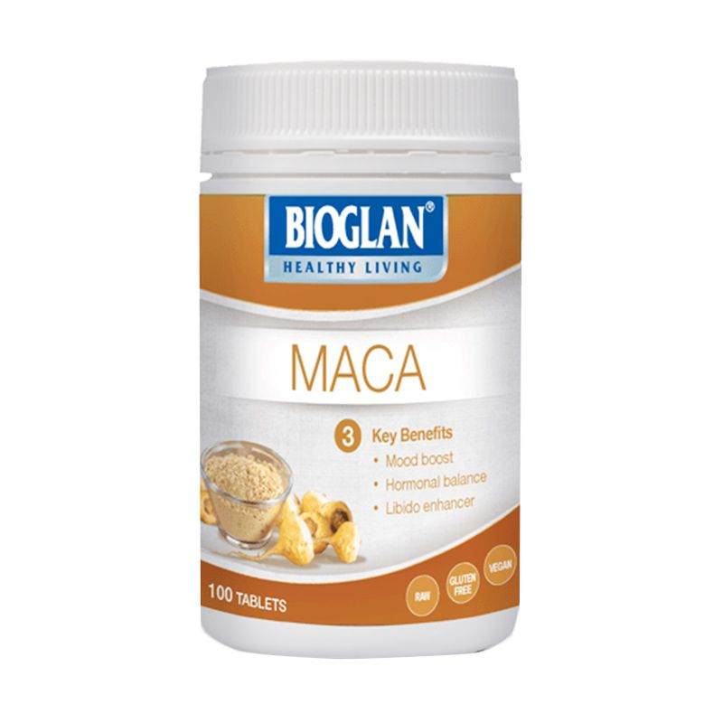 Bioglan Superfoods Maca Suplement Kesehatan [100 Tablets]