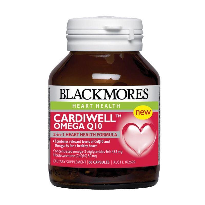 Blackmores Cardiwell Omega Q10 Multivitamin [60 Kapsul]