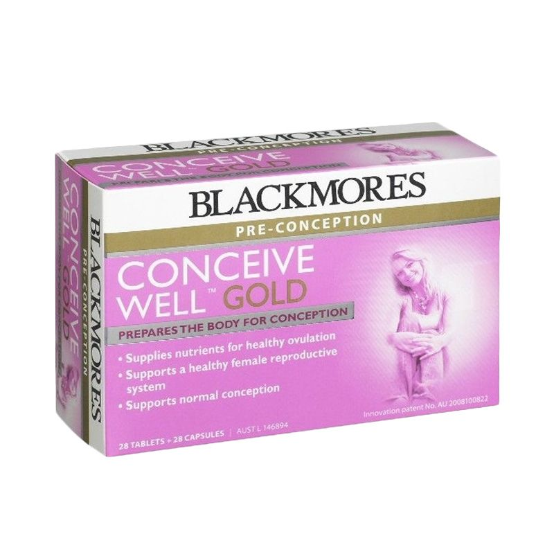 Blackmores Conceive Well Gold Multivitamin [56 Tablet]