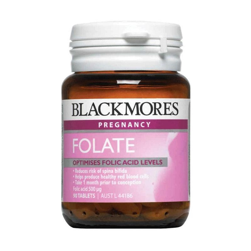 Blackmores Folate Folic Acid 500mcg Multivitamin [90 Tablet]
