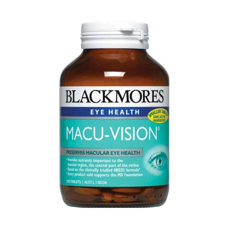 Blackmores Macu Vision Plus Suplemen [150 Tablets]