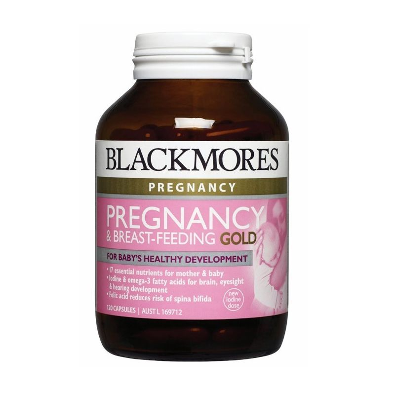 Blackmores Pregnancy and Breastfeeding Gold Suplement Kesehatan [120 Kapsul]