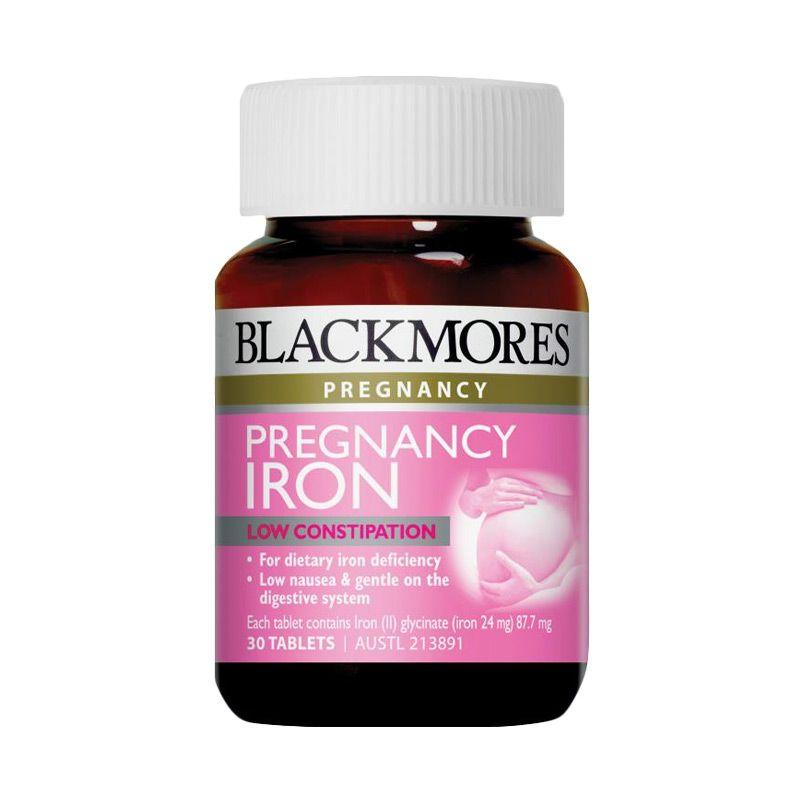 Blackmores Pregnancy Iron Multivitamin [30 Tablet]