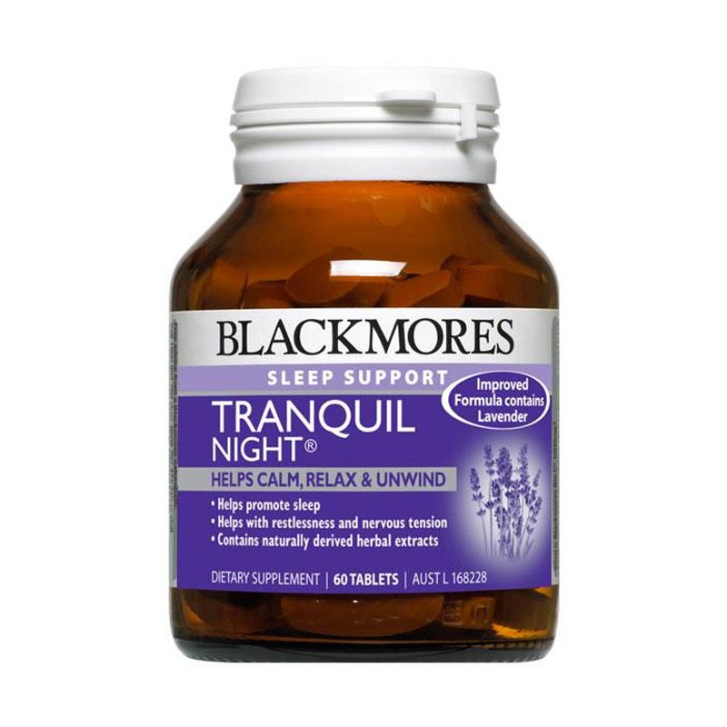 Blackmores Tranquil Night Suplemen [60 Kapsul]