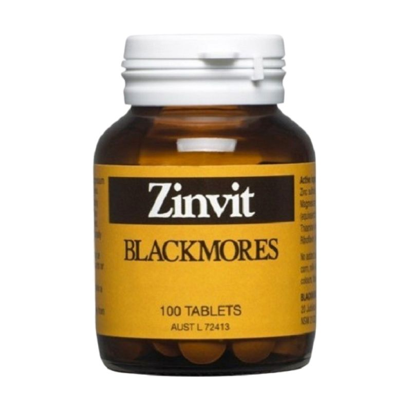 Blackmores Zinvit Magensium Suplemen [100 Tabs]