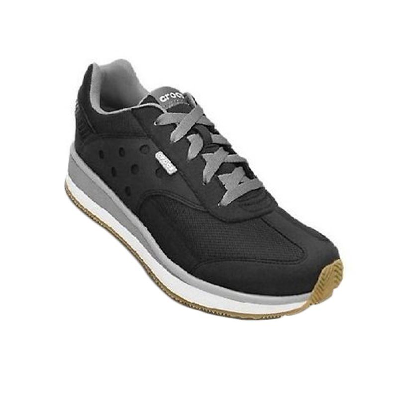 Crocs Retro Hitam Sepatu Pria