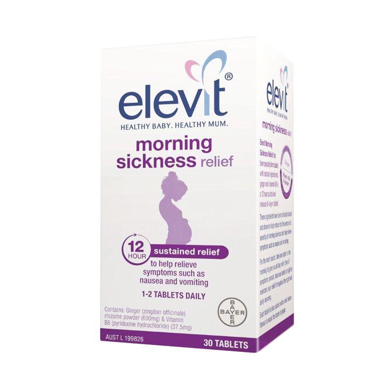 Elevit Morning Sickness Relief Multivitamin [30 Tablets]