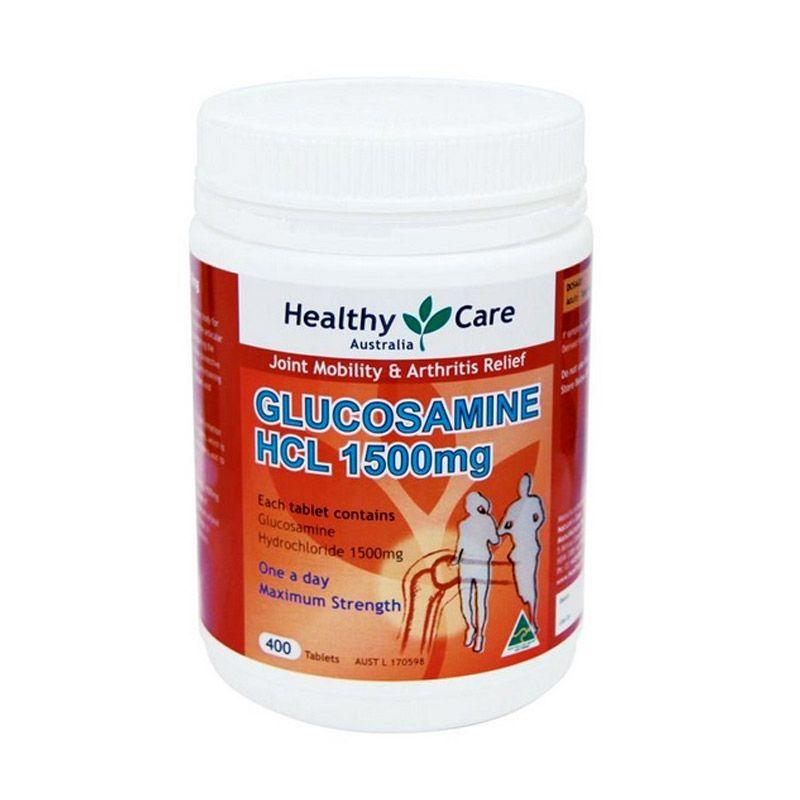 Healthy Care Glucosamine HCL Suplemen Kesehatan [1500 mg/400 Kapsul]