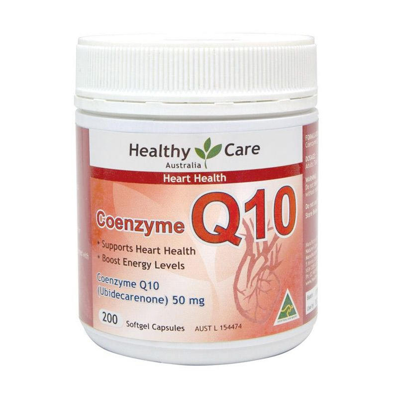 Healthy Care Coenzyme Q10 Suplemen [50 gr/200 Kapsul]