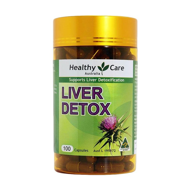 Healthy Care Liver Detox Multivitamin [100 Kapsul]