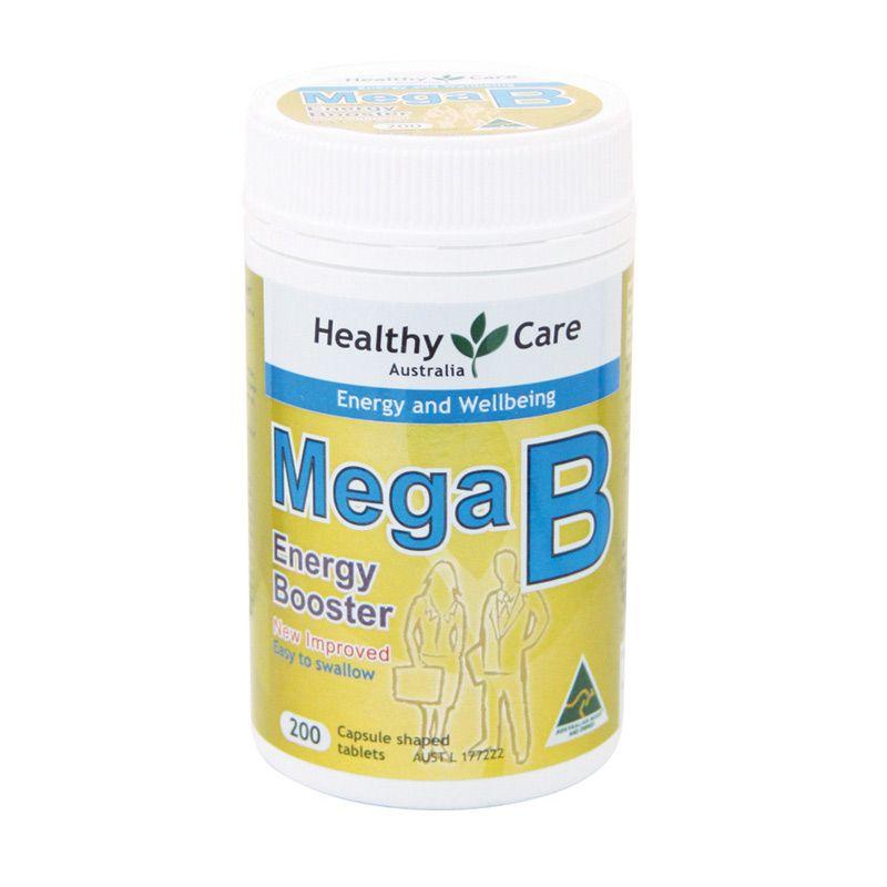 Healthy Care Mega B Multivitamin [200 Tablet]