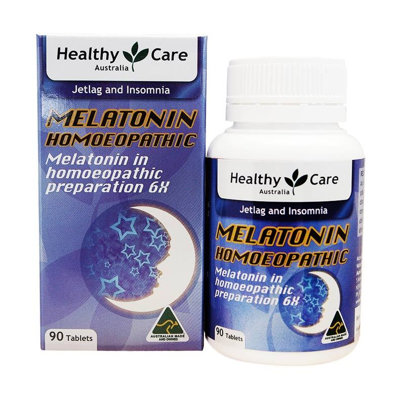 Healthy Care Melatonin Homeopathic Multivitamin [90 Tablet]