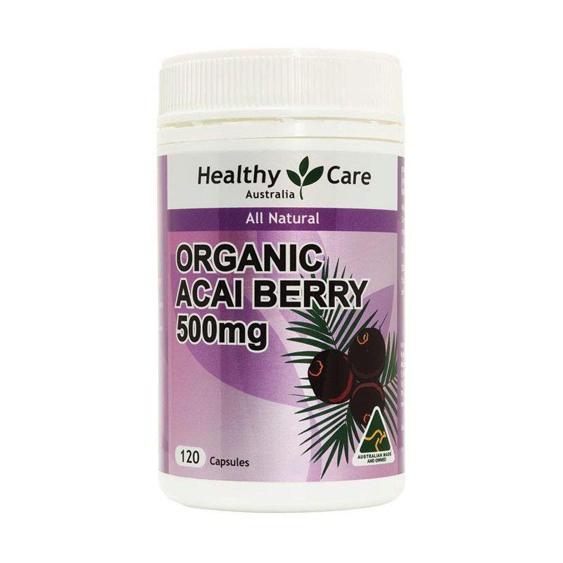 Healthy Care Organic Acai Berry Multivitamin [120 Kapsul]