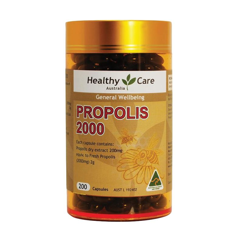 Healthy Care Propolis 1000mg Multivitamin [200 Kapsul]