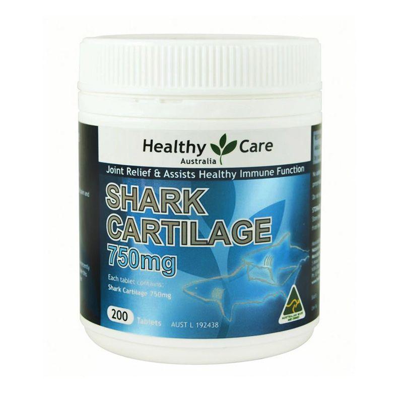 Healthy Care Shark Cartilage 750 Multivitamin [200 Tablet]