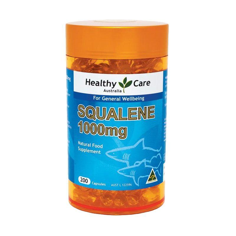 Healthy Care Squalene Shark Oil 1000 [200 Kapsul]