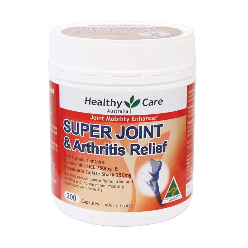 Healthy Care Super Joint Arthritis Relief Multivitamin [200 Kapsul]