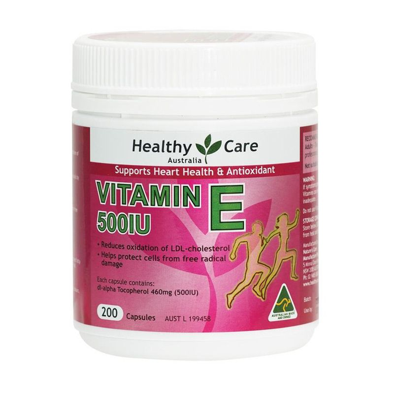 Healthy Care Vitamin E 500IU Multivitamin [200 Kapsul]