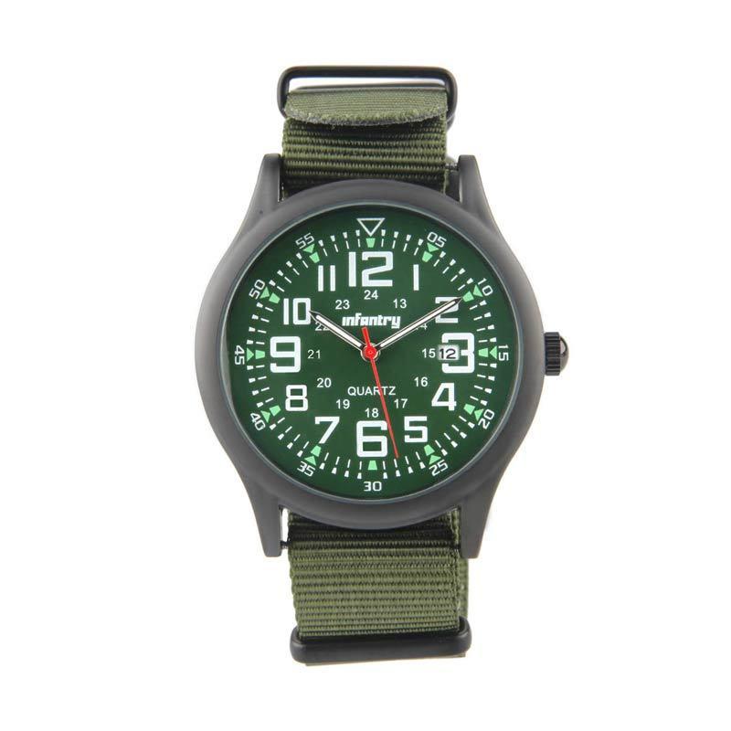 Infantry IN-005 Black - Green