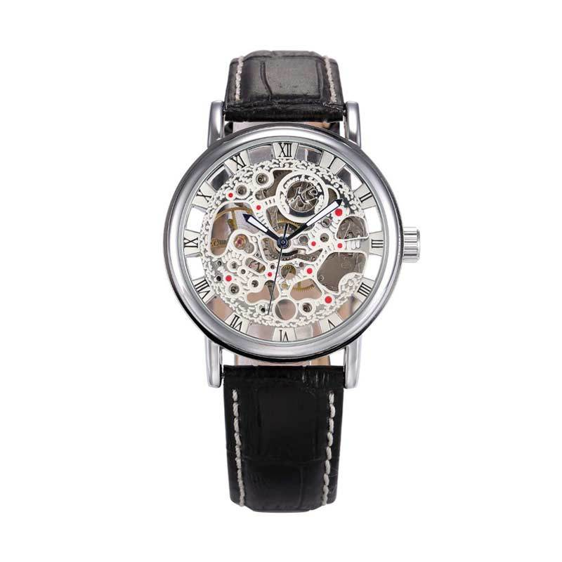 KS (Kronen & Sohne) KS022 Jam Tangan Casual Silver - Black