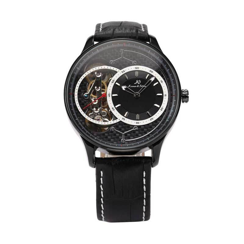 KS (Kronen & Sohne) KS128 Jam Tangan Casual Black