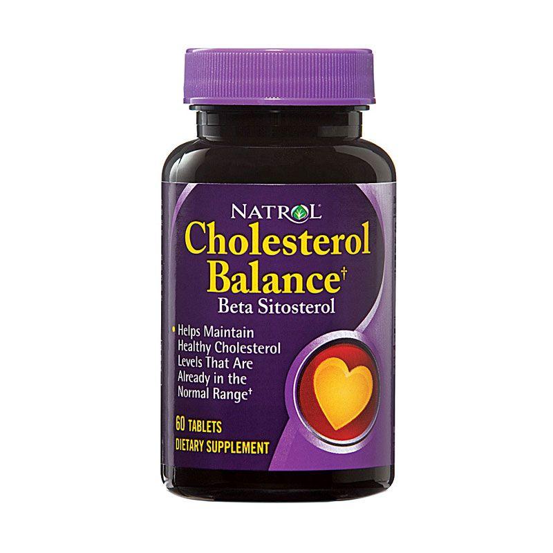 Natrol Cholesterol Balance Suplemen Kesehatan [60 Kapsul]