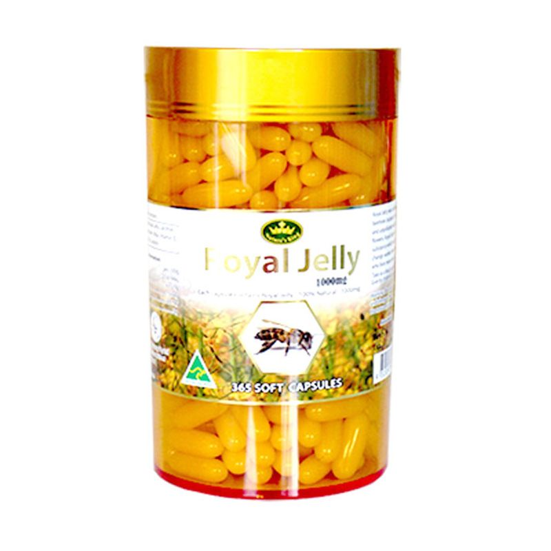Nature King Royal Jelly Suplemen Kesehatan [1000 mg/365 kapsul]