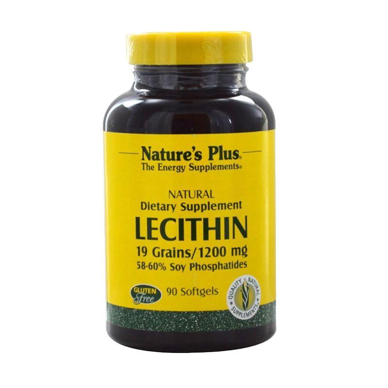 Nature's Plus Lecithin Suplemen Diet [1200 mg/90 Softgels]
