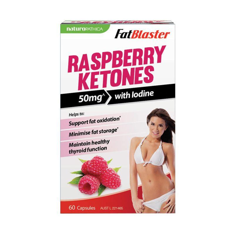 Naturopathica Fatblaster Raspberry Ketones Suplemen Kesehatan [60 Kapsul]