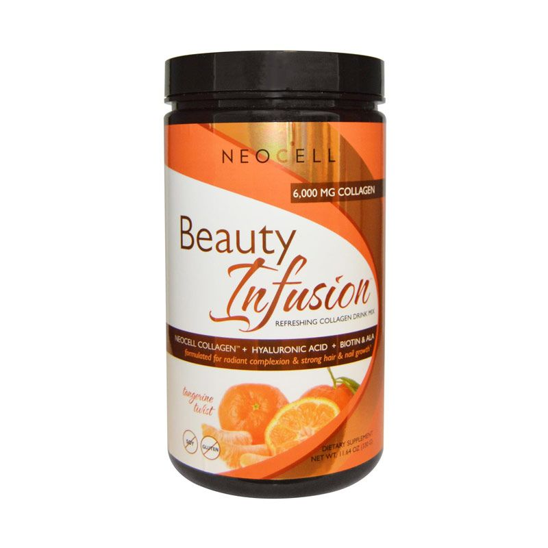 Neocell Beauty Infusion Refreshing Collagen Drink Mix Tangerine Twist Suplemen [330 gr]