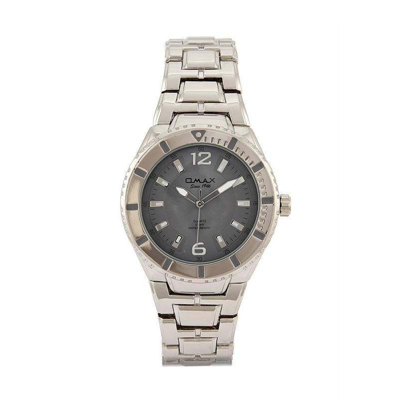 OMAX 00DBA657P007 - Grey Jam Tangan Wanita