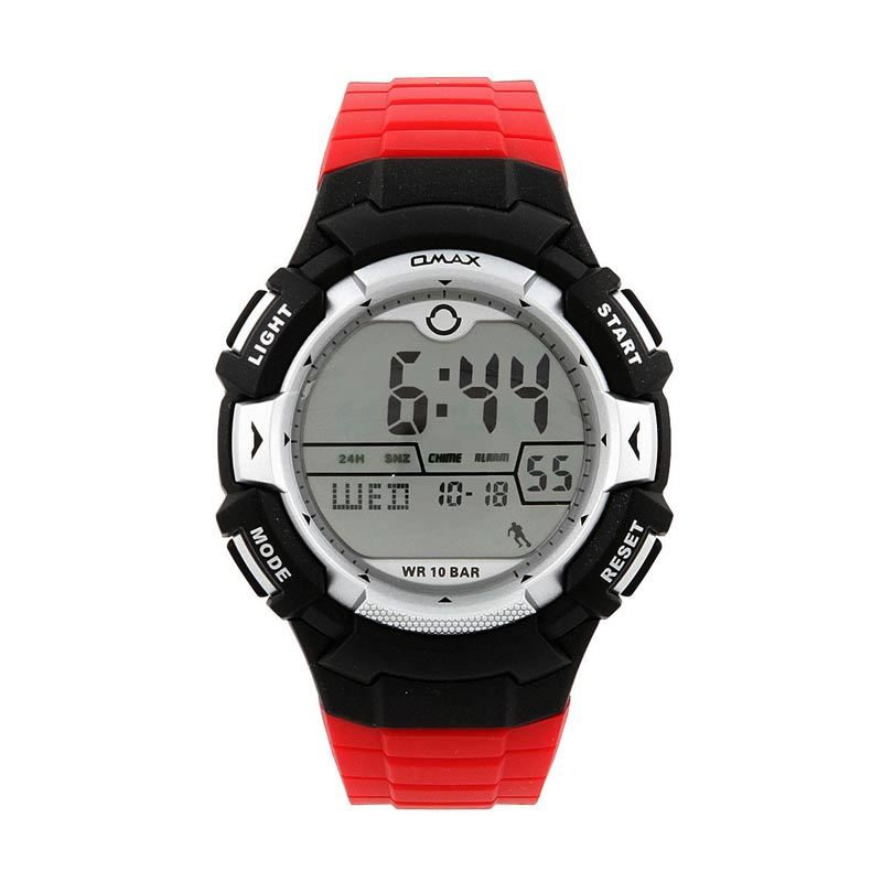 OMAX 00DP04P-E1 Red - Black