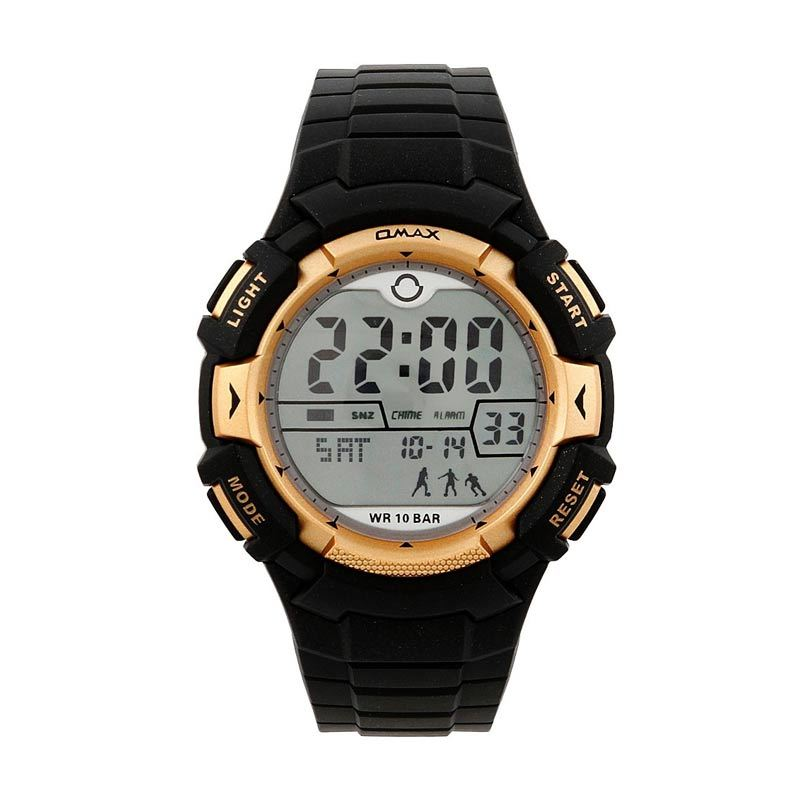 OMAX 00DP04U-E1 Black - Rose Gold