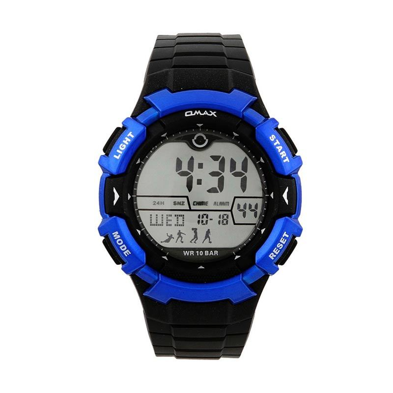 OMAX 00DP04W-E1 Black - Blue