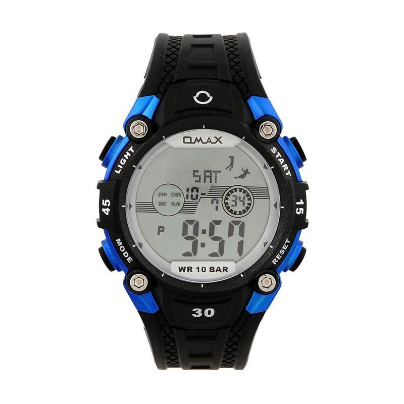 OMAX 00DP05E-G1 Black - Blue
