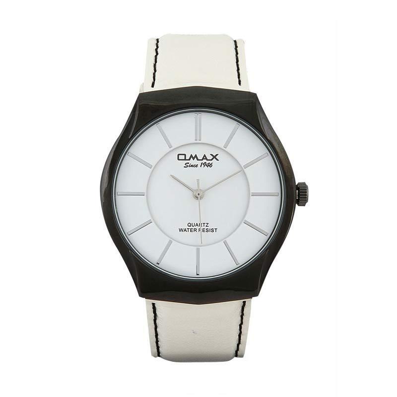 OMAX 00SGL021BW03 - White Jam Tangan Wanita