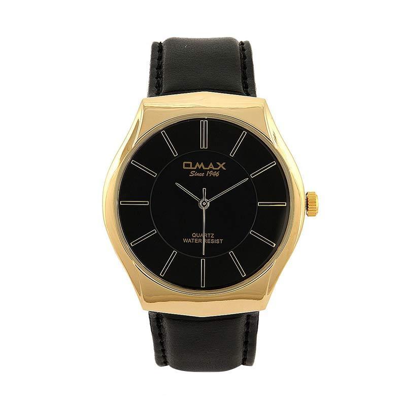 OMAX 00SGL021QB02 - Black Jam Tangan Wanita