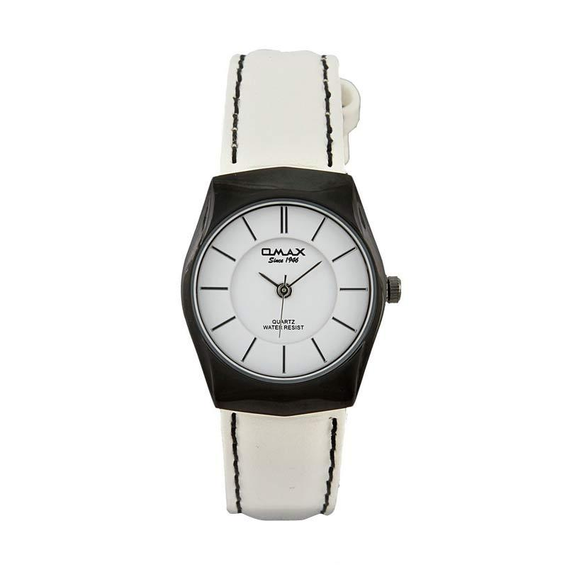 OMAX 00SGL022BW03 - White Jam Tangan Wanita