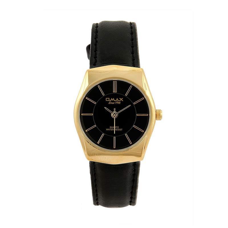 OMAX 00SGL022QB02 - Black Jam Tangan Wanita